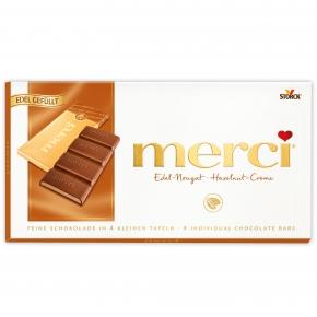 merci Tafelschokolade Edel-Nougat 112g