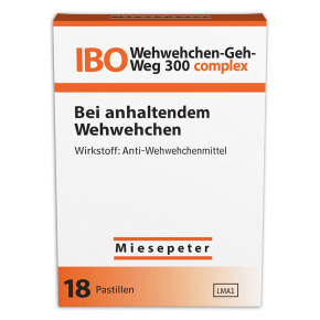 Miesepeter IBO Wehwehchen-Geh-Weg 300 complex 18er