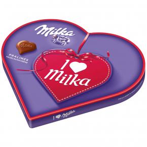 """Milka """"I Love Milka"""" Pralinés Haselnusscrème 187g"""