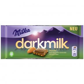 Milka darkmilk Mandel 85g