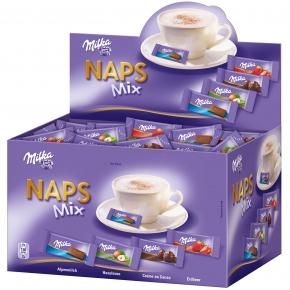 Milka Naps Mix 355er