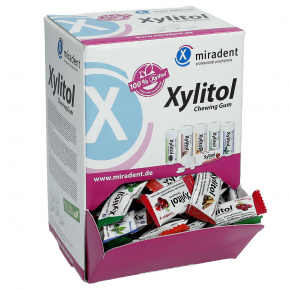 miradent Xylitol Chewing Gum Mix 200x2er