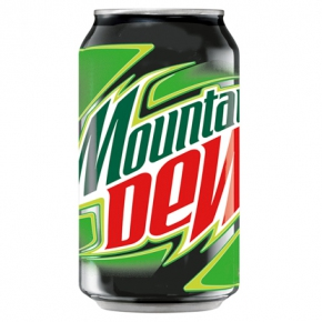 Mountain Dew 330 ml Dose