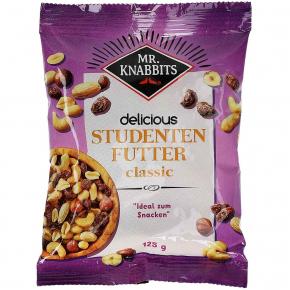 Mr. Knabbits delicious Studentenfutter classic 125g