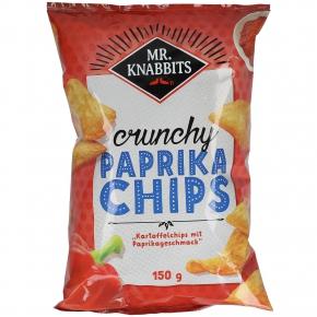 Mr. Knabbits crunchy Paprika Chips 150g