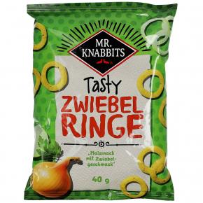 Mr. Knabbits tasty Zwiebelringe 40g