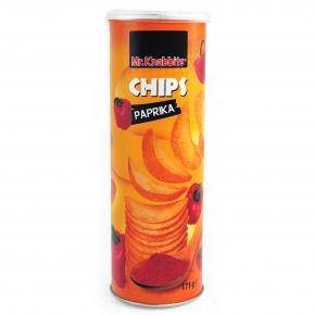 Mr. Knabbits Chips Paprika 175g