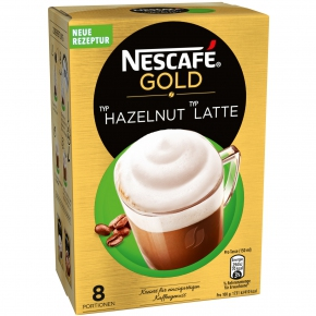 Nescafé Gold Typ Hazelnut Typ Latte 8er