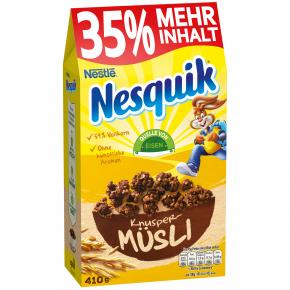 Nesquik Knusper-Müsli + 35% mehr Inhalt