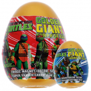 Nickelodeon Golden Giant Surprise Egg Turtels
