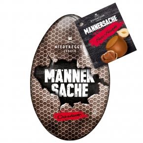 """Niederegger Marzipan """"Männersache"""" Osterkram Nuss-Nougat 50g"""