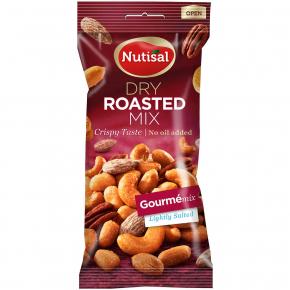 Nutisal Dry Roasted Mix Gourmé With Sea Salt 60g
