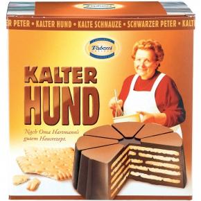 Oma Hartmanns Kalter Hund Kekstorte