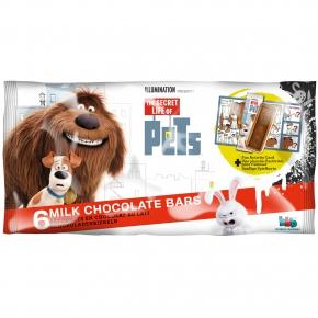Pets Milk Chocolate Bars 6er