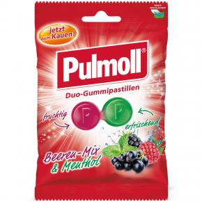 Pulmoll Duo-Gummipastillen Beeren-Mix & Menthol