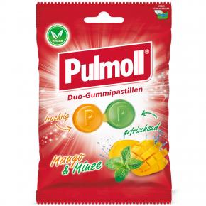 Pulmoll Duo-Gummipastillen Mango & Minze