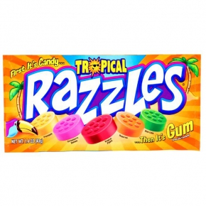 Razzles Tropical 40g