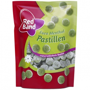 Red Band Euca Menthol Pastillen 200g