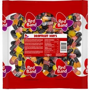 Red Band Fruchtgummi Lakritz Duos 1kg