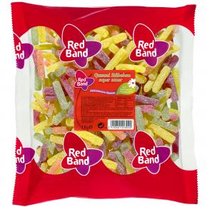 Red Band Gummi Stäbchen Super Sauer 1kg