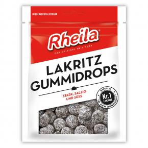 Rheila Lakritz Gummidrops 90g