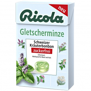 Ricola Gletscherminze zuckerfrei Box