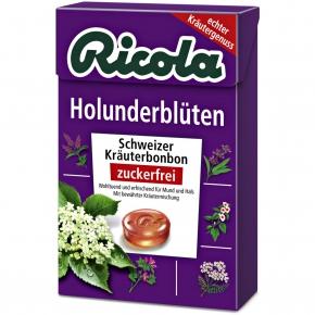 ricola holunderbl ten zuckerfrei box online kaufen im world of sweets shop. Black Bedroom Furniture Sets. Home Design Ideas