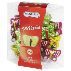 Riegelein Minis Schmetterlinge 25x5g