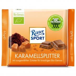 Ritter Sport BIO Karamellsplitter 65g