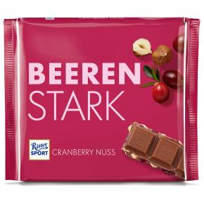 Ritter Sport Cranberry Nuss Beerenstark 250g