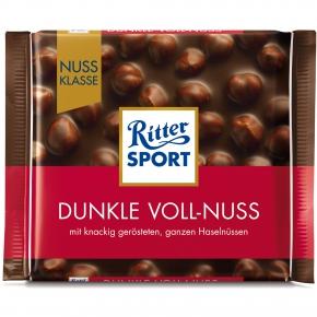 Ritter Sport Nuss-Klasse Dunkle Voll-Nuss 100g