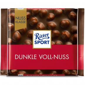 Ritter Sport Dunkle Voll-Nuss 100g