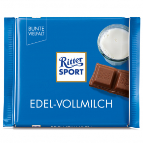Ritter Sport Edel-Vollmilch 100g