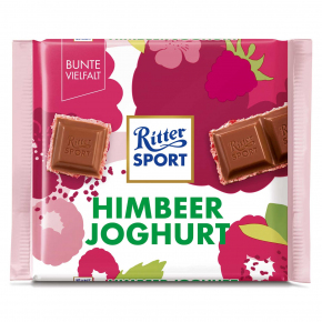 Ritter Sport Himbeer Joghurt 100g