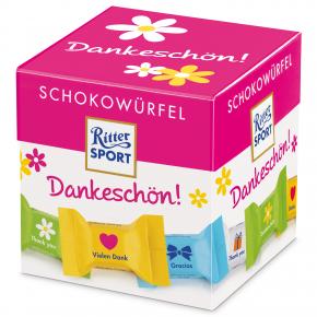 """Ritter Sport Schokowürfel """"Dankeschön"""""""