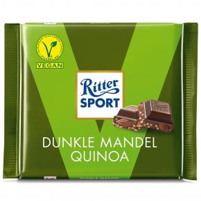 Ritter Sport Dunkle Mandel Quinoa