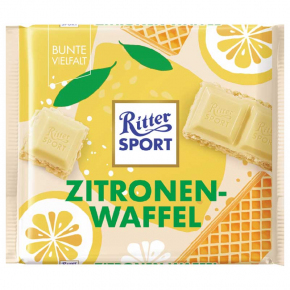 Ritter Sport Zitronen-Waffel 100g