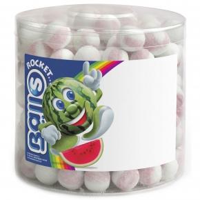 Rocket Balls Brausebälle Wassermelone 200er