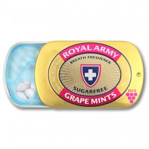 Royal Army Grape Mints zuckerfrei 14g