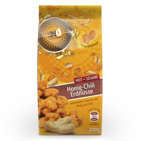 SambaNuts Honig-Chili Erdnüsse