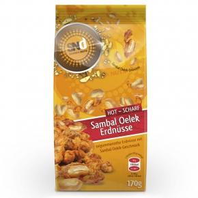 SambaNuts Sambal Oelek Erdnüsse