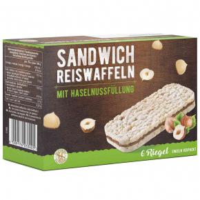 Continental Bakeries Sandwich Reiswaffeln Haselnuss 6er