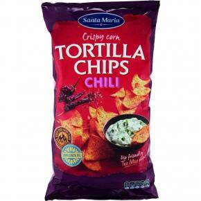 Santa Maria Tortilla Chips Chili 475g