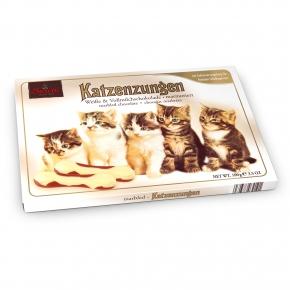 Sarotti Katzenzungen Weiße & Vollmilchschokolade