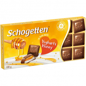 "Schogetten ""in love with"" Joghurt & Honey 100g"