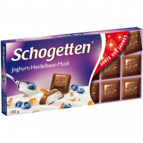 """Schogetten """"Sorte des Jahres"""" Joghurt-Heidelbeer-Müsli"""