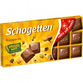 """Schogetten """"Sorte des Jahres"""" Knusperini"""