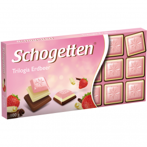 Schogetten Trilogia Erdbeer