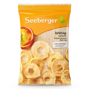 Seeberger Apfelringe 80g
