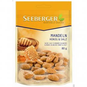 Seeberger Mandeln Honig & Salz 80g